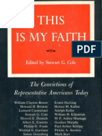 Pitirim Sorokin - This is My Faith (1956)