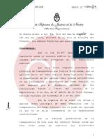 Acordada de la CSJN sobre DDJJ patrimoniales de funcionarios judiciales Ago2013