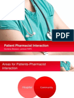 3. Patient Pharmacist Interaction