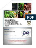 Monografia de Comercio Internacional Biocomercio
