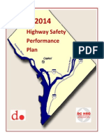 DDOT FY2014 Highway Safety Performance Plan