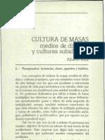 Alberto Azis Cultura de Masas