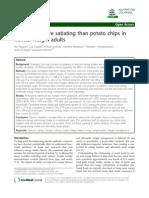 Potato Chips vs Popcorn
