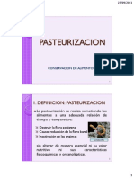 1.05 - Pasteurización 2012