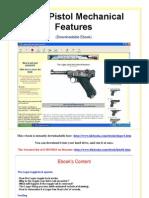 Luger Pistol Mechanical Features