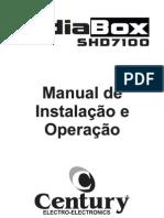 Manual Do MidiaBox SHD 7100