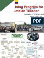 Corea Ict for Colombia Teacher