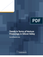 Silicon Valley Venture Capital Survey-Second Quarter 2013 (1)