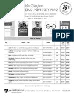 APSA 2013 order form