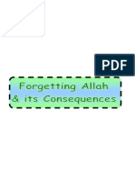 Monotheism Part 10-4- Consequences of Forgetting Allah