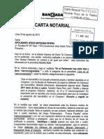 #CartaNotarial enviada por @BankadaFP a Apolinario Antezana - @juliogagop