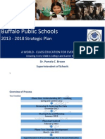 Buffalo Public Schools 2013-18 Strategic Plan