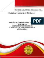 Manual de Disposiciones Tecnicas 2013-Bomberos Costa Rica