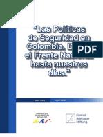 Adminitracion Publica-politicas de Seguridad en Colombia