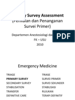Primary Survey Assessment