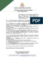 Substitutivo Projeto Lei Sacolas Biodegradaveis