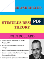 Dollard and Miller learning theory