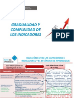 PPT 9- Gradualidad y Complejidad de Indicadores Del v, VI y VII