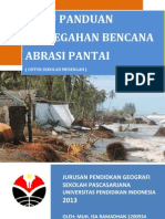 Buku Panduan Bencana Abrasi Pantai