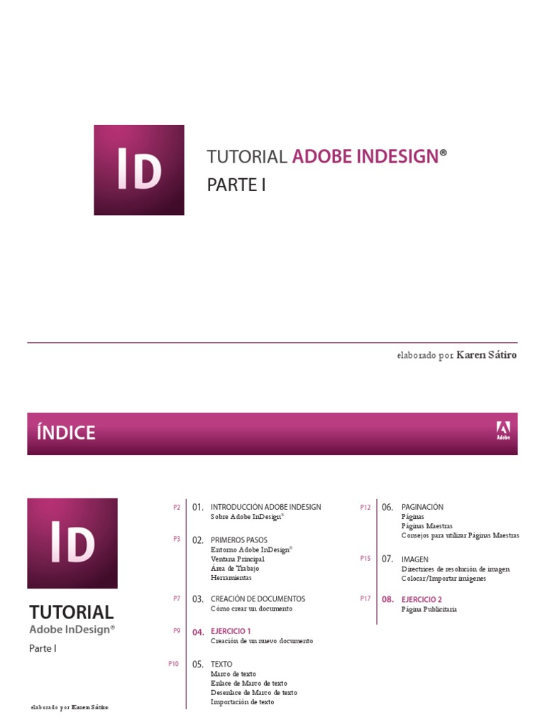 Guia ADOBE Indesign