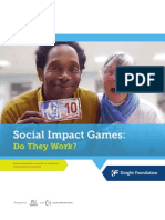 Social Impact Games
