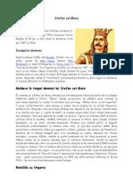 Stefan Cel Mare- Istorie