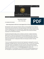 USDOJ to File New Lawsuit Against State of Texas Over Voter I D Law