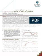 Monetary Policy Review - Jan 2013