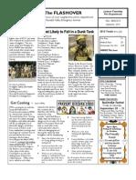2013 Flashover FALL Newsletter
