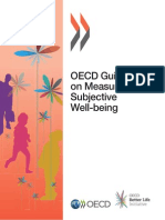 Guidelines on Measuring Subjective Well-Being
