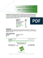Leave-in Scalp and Hair Conditioner - 135