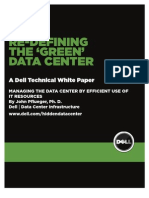 Dell Redefining Green Datacenter