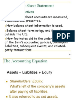 ACCT303 Chapter 4A - Balance Sheet, Teaching Pp