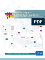 Pcs i Data Security Guidelines