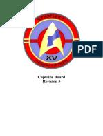 SFI Region 15 - Captain's Board