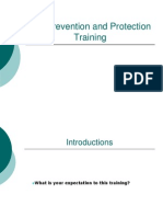 Fall Prevention and Protection Training(New)