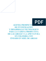 Estudio  Prospectiva de la  Apicultura Colombia