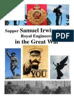 SAMUEL IRWIN, Royal Engineers, in the Great War