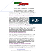 US Moroccan Alliance Factsheet 17 APR 07