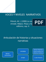 Voces y Niveles Narrativos