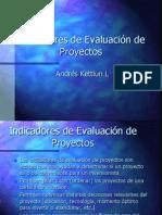 Indicadores de Evaluacion de Proyectos
