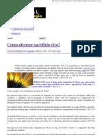 Como oferecer sacrifício vivo_ _ Portal da Teologia.pdf