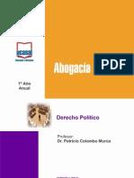 1o Ano - Derecho Politico TODAS LAS SEDES