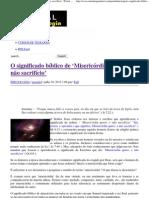 O significado bíblico de 'Misericórdia quero, e não sacrifício' _ Portal da Teologia.pdf