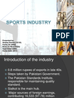Sport Goods Pakistan BRIEF