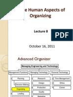 Human Aspects of Organizing