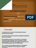 leucemia en niños- Hugo Diaz