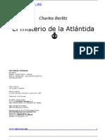 Charles Berlitz - El Misterio De La Atlántida