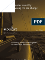 Surviving the Sea of Change With Information Management