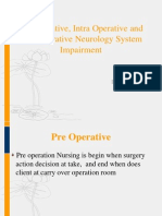 Pre, Intra, Post Operative Neurologi Syster Impairment - Dr. Masliani